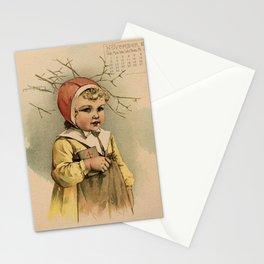 Swedish Girl Maud Humphrey Stationery Cards