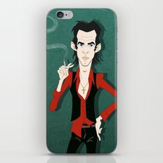 Nick is down here for your soul iPhone & iPod Skin