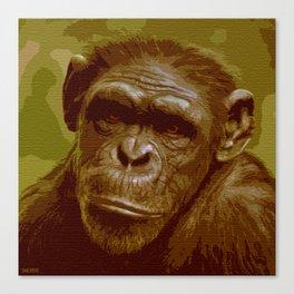 camo monkey! Canvas Print