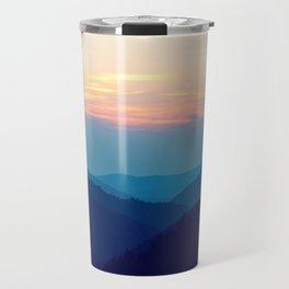Sunset over the Great Smoky Mountains (Tennessee, USA) Travel Mug