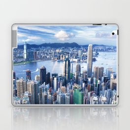 Hong Kong-Buildings Laptop & iPad Skin