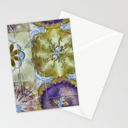 Unoiled Vulnerable Flower  ID:16165-055943-96401 Stationery Cards