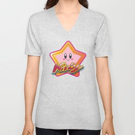 Kirby the Superstar (Icon) Unisex V-Neck