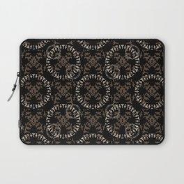 Rune Chic - Runic Magic Circle Inspired Pattern Laptop Sleeve