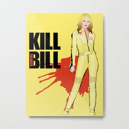 Kill Vampire Bill Metal Print