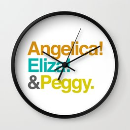 And Peggy Wall Clock