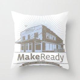 MakeReady 09 Redux Throw Pillow