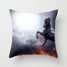 ISN'T DAWN SO SOON! Throw Pillow