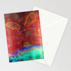 Bad Ash Mothra Funker Full (Wobblesauce) Stationery Cards