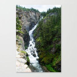 Woodbine Falls Canvas Print