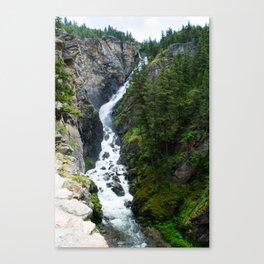 Woodbine Falls Canvas Print