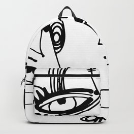 Goddess Doodle 2019-3 by Kathy Morton Stanion Backpack