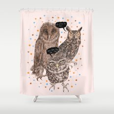 h'Hoo-hoo Shower Curtain