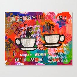 My BFF Canvas Print
