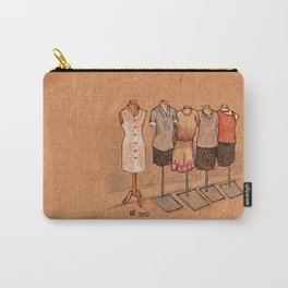 Pretty Maids All In a Row Carry-All Pouch