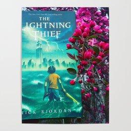 Percy Jackson & the Cherry Blossom Tree Poster