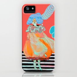 BRAIN LEAK iPhone Case