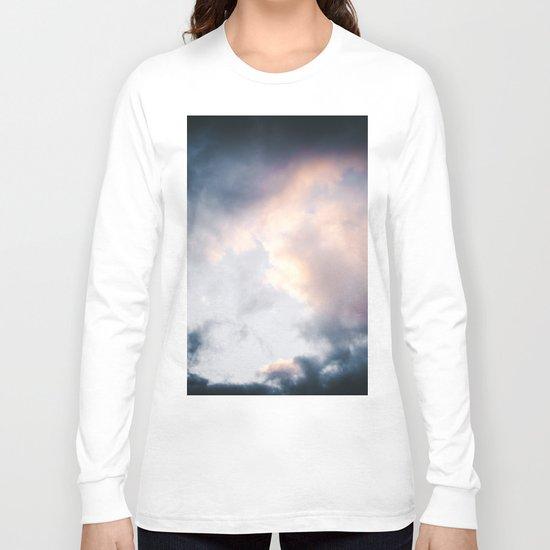 Creamy Clouds Long Sleeve T-shirt