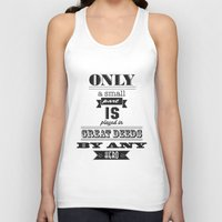 the lord of the rings Tank Tops featuring lord of the rings by christopher-james robert warrington
