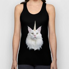 Unicorn Cat Unisex Tank Top