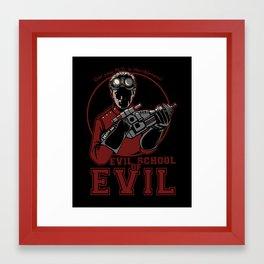 Dr. Horrible's Evil School of Evil Framed Art Print
