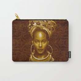 Afrofuturist style Carry-All Pouch