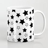 arya stark Mugs featuring Stark Stars by SonyaDeHart