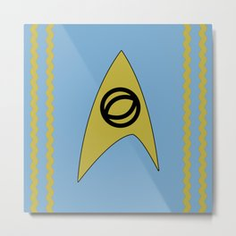 Star Trek - Spock Metal Print