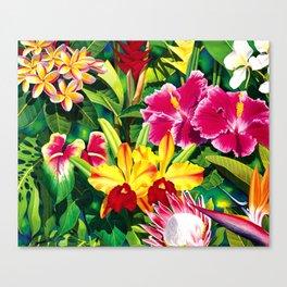 Tropical Panorama part 1 Canvas Print