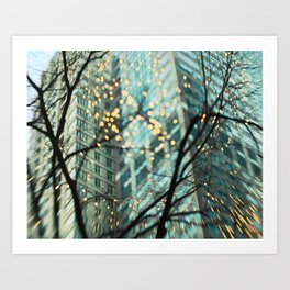 Chicago Lights 3 Art Print