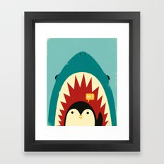 Hi! Framed Art Print