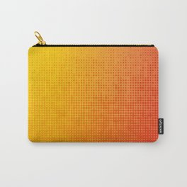 Yellorange Dots Carry-All Pouch