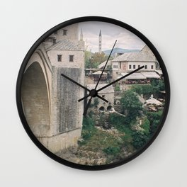 Mostar BiH IV Wall Clock