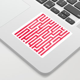Enter the labyrinth Sticker