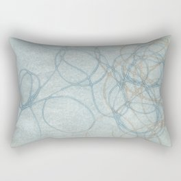 Blue Nest 2 Rectangular Pillow