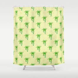 Sweet Baby Frog Shower Curtain
