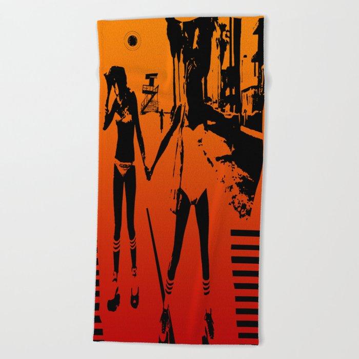 The Girls of Summer Beach Towel