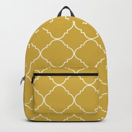Yellow Moroccan Backpack