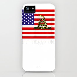 Chris-tread shirt Pratt-on don't on me tread T-shirt iPhone Case