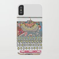 letter iPhone & iPod Cases featuring I DON'T KNOW WHAT TO WRITE YOU by Bianca Green