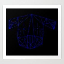 Space Tim  Art Print