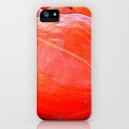 October Pumpkin iPhone Case
