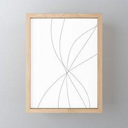 Free Flowing Framed Mini Art Print