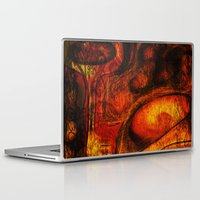 mortal instruments Laptop & iPad Skins featuring This Mortal Coil by Aurora Art
