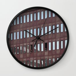 Amsterdam Conversation Wall Clock