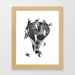 Catagious  Framed Art Print
