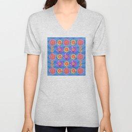 Suns and Flowers Unisex V-Neck