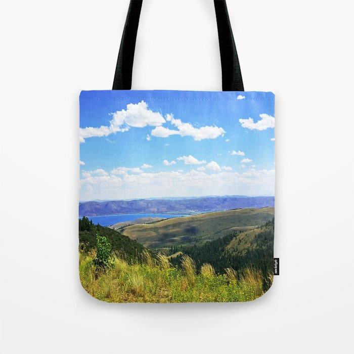 Bear Lake Blue Tote Bag