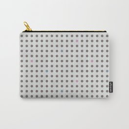 Dot Grid Carry-All Pouch
