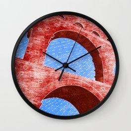 Aqueduct Wall Clock
